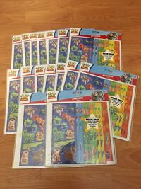 Toy Story Glow in the dark stickers Coquitlam, V3B 7L7