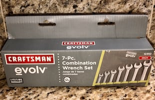 New Craftsman Inch Wrench Set