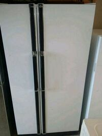 white side-by-side refrigerator North Las Vegas, 89030