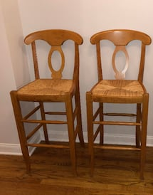 Pottery Barn Napoleon Counter Height Stools - 2 stools