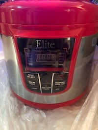Red and gray pressure cooker brand new never used New York, 10468