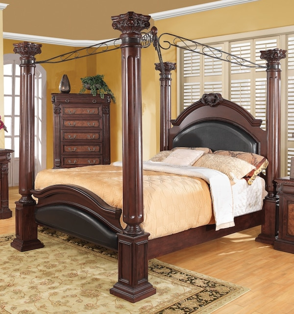 4 Poster Canopy Bed Queen Size Vendu A Kitchener Letgo