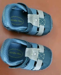 STRIDE RITE BABY BLUE SHOES SIZE 1M! Chino, 91710