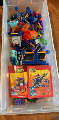 assorted color plastic toy lot Columbia, 29209