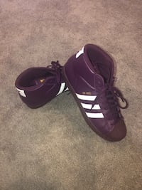 Adidas Pro Model Super Purple Men's 9.5 Washington, 20004