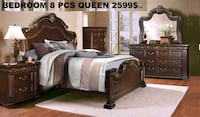 Beautiful New Classic Bedroom set Queen or king  Montréal, H4N 1L7