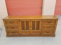brown wooden dresser with mirror Westminster, 92683
