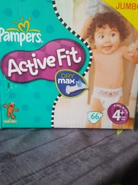 jumbo pack pampers active fit 4+