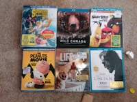 blu ray movies  New Westminster, V3L 5P3