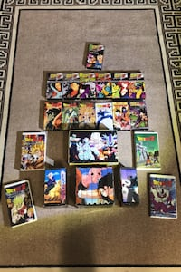 Dragon Ball Z VHS Lot!!