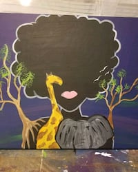 black and yellow bird painting Capitol Heights, 20743
