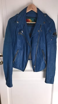 Leather jacket moose knuckles size S