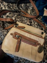 Bolo all leather crossbody Bellevue