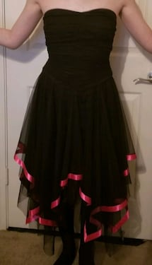 Strapless Party Dress (size 0)