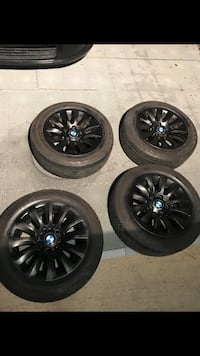 "BMW 16"" Rims & brand new used certified tires  Houston, 77083"