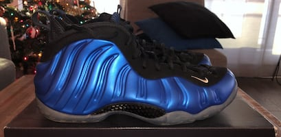 Nike Air Foamposite One Royal Blue Size 10,5 Penny