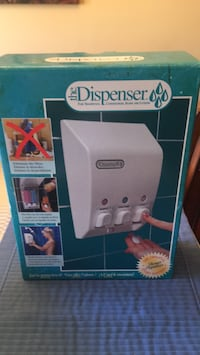 Dispenser. The classic soap dispenser BRAND ZEW in box Halton Hills, L7G 6N4
