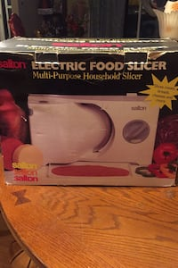 Salton Electric food slicer Calgary, T2A 2H7