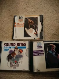 Music CDs (3) Silver Spring, 20906