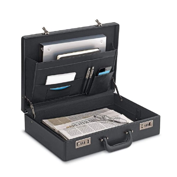 CJ Solo used briefcase, look new in clear plastic bag