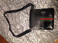 black and brown leather crossbody bag Halifax