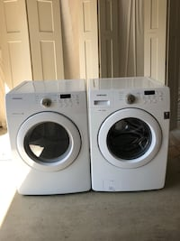 white front-load washer and dryer set Dublin, 43016