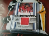 trading card with case