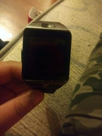 black smart watch with black strap Takoma Park, 20912