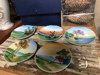 Antique hand painted dishes Stafford, 22556
