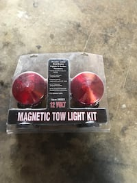 12 volt 96933 magnetic tow light kit