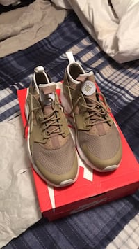 pair of gray Nike running shoes Conway, 72034