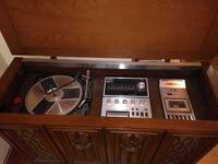 Vintage Airline Stereo Console - All units work -  Hillsborough County