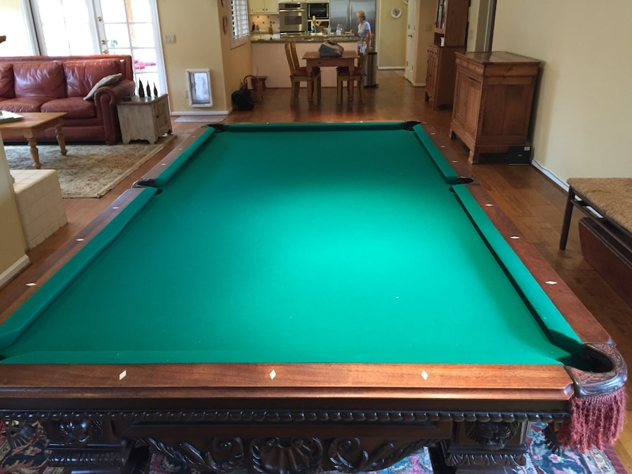9 Foot Pool Table   Peter Vitalie   Lord Nelson