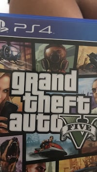 GTA PS4 Bought new never really played it