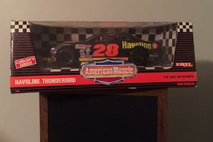 "American Muscle Thunderbird #28 1/18"" scale stock car"