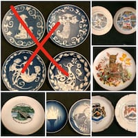 Large lot of Collector plates - negotiable Toronto, M2J 2C2