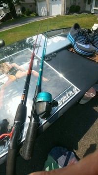 Two fishing rods for sale used but top-of-the-line Simcoe, N3Y 5J9