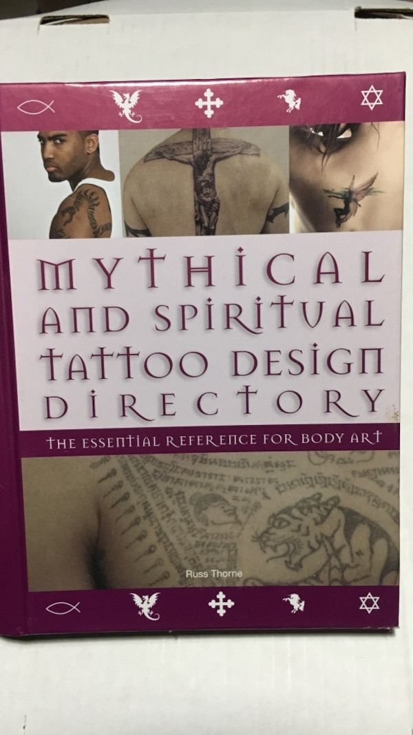 Mythical and Spiritual Tattoo Design Directory book