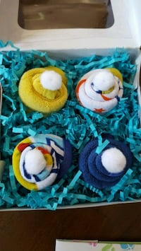 4 Pack of Baby Washcloth Cupcakes in Gift Box ???? Syracuse, 13212