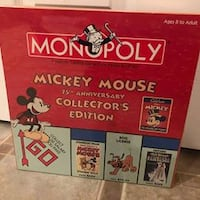 Mickey Mouse Disney 75 anniversary edition unopened box Troy, TROY