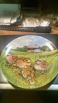 Quail Collector Plate Centreville, 20120
