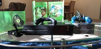 black Xbox One console with controller and game cases Fairfax, 22031