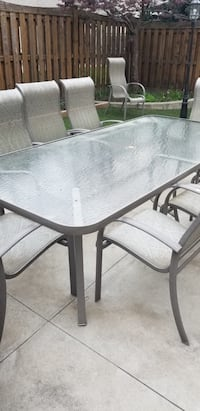 Patio table with 9 chairs Vaughan, L6A 2N4