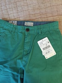 Brand new Zara green shorts for 9-10 years old boy Toronto, M4T 1K2
