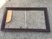 """Large wood picture frame 54-1/2"""" x 30"""" Cleveland, 44135"""
