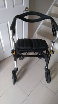 "Evolution Trillium Series Walker-TOP OF THE LINE-Like New Condition!  Best in its class.    Used literally a couple of times.  Shipping and delivery available!!!  Measurements: To the top of the seat cushion 25"" from floor Between handlebars 18"" wide. Hei Toronto"