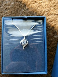 Brand new 925 sterling silver necklace Houston, 77042