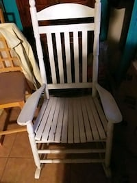 Old wooden rocking chair