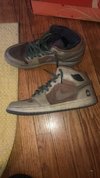 pair of gray Nike Air Force 1 high Oakland, 94601