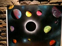 Black Hole Space Painting Oliver, V0H 1T0